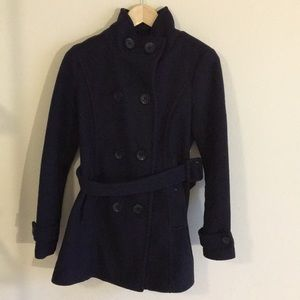 Forever 21 navy blue pea coat
